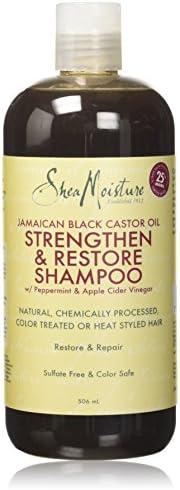 Shea Moisture 牙买加黑蓖麻油强韧修复洗发水 506毫升