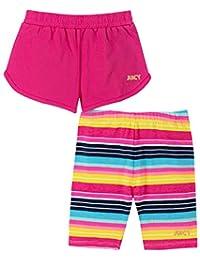 Juicy Couture 橘滋 女童短裤 2 件套