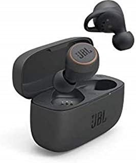 JBL Live 300TWS - 真正的无线蓝牙入耳式耳机 黑色