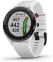 GARMIN 佳明 Approach S62 高級高爾夫 GPS 手表,內置虛擬Caddie,映射和全彩色屏幕,白色