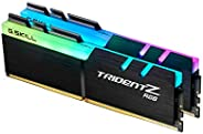 G.SKILL 芝奇 幻光戟 Z RGB DDR4 4400MHz CL19 26 26 46 1.50V 64GB (2x32GB)内存条