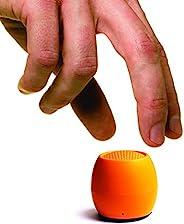 Boompods Zero 蓝牙音箱 – 强大的防水迷你音箱,带双配对选项和无线麦克风,带大声音(橙色)