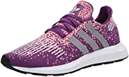 adidas 阿迪达斯 女式 Swift Run W Glory Purple/Silver Met./Glory Pink 6