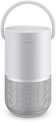 Bose Portable Smart Speaker - 内置 Alexa 语音控制,银色