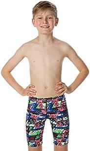 Speedo 速比涛 男孩 Marvel 全身泳裤