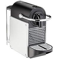 De'Longhi 德龙 Nespresso EN 124.S 胶囊咖啡机 Pixie 1260W 0.7L 侧板由回收的Nespresso胶囊制成,银色