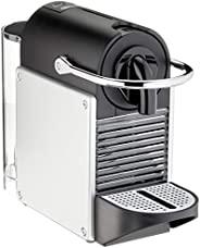 De'Longhi 德龙 Nespresso EN 124.S 胶囊咖啡机 Pixie 1260W 0.7L 侧板由回收的Nespresso胶囊制