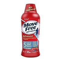 Move Free 益节 葡萄糖胺软骨素+ D3补充液(每瓶30粒),有益于提高移动性,灵活性,强度,润滑性,舒适性以及骨头支持*