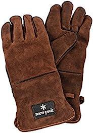 Snow Peak 雪峰 炉边手套 棕色 UG-023BR