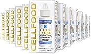 Cellfood 液体浓缩物,1盎司(30ml)/瓶(12瓶)- 含有海藻来源的矿物质,酶,氨基酸,电解质,优越的吸收-无谷蛋白,无转基因