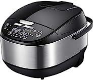 COMFEE' 5.2 夸脱(约4.92升)亚洲风格可编程一体式多功能炊具,可用作电饭煲、慢炖锅、蒸锅、炒锅、酸奶机、炖锅,带 24 小时延时计时器和自动