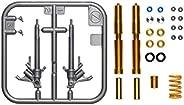 TAMIYA 田宫 12690 1:12 叉子套装 本田 CBR 1000R-R Fireb 原厂仿制模型 塑料套件 手工艺品 兴趣 粘贴 模型套件 组装品 未上漆
