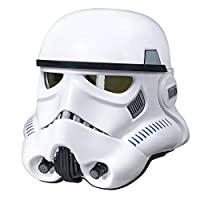 STAR WARS 黑色系列星球大戰外傳之俠盜一號,帝國沖鋒隊人物模型帶電子變音頭盔(亞馬遜獨家)