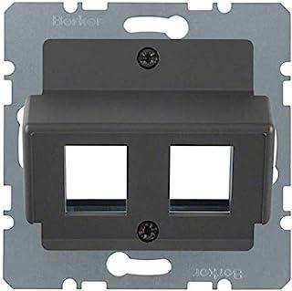 Hager - *板模块式 RJ45 AMP K1/B1/B3/B7 无*煤