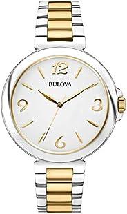 Bulova 女式 98L194 模拟显示日本石英双色手表