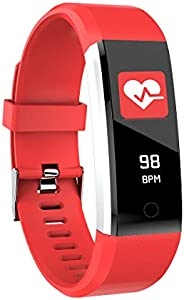 gonghe 智能手表 男士 女士 IP67 防水 健身追踪器 心率监测 运动手表 1.3 英寸 彩色手表 智能手表 适用于 Android 手机和 iOS 手机