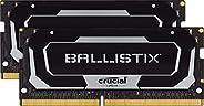 Crucial 英睿达 Ballistix BL2K8G32C16S4B 3200 MHz,DDR4,DRAM 笔记本电脑游戏内存套件,16GB(8GB x2),CL16