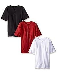 American Hawk Boys 3 Piece Pack Henley Shirt