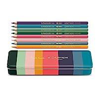 Caran d'Ache Paul Smith Supracolor 铅笔 - 8 色套装