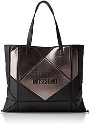 Love Moschino Handtasche Frau Schultertasche Artikel JC4120PP18LX BORSA NYLON + PVC - cm.45 x 37 x 1