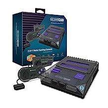 Hyperkin RetroN 2 HD 游戏机适用于 NES/ Super Famicom (太空黑色)