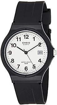 Casio Casio 女式手表 模拟石英 树脂带 MW 59