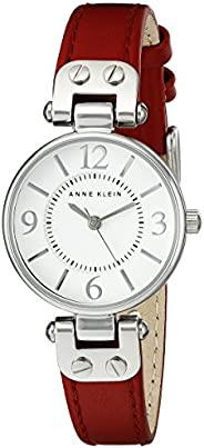 Anne Klein 10/9442 女士皮革表帶手表