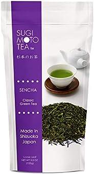 SUGIMOTO TEA SA Japanese Sen Cha 经典绿茶,散页包装,100g