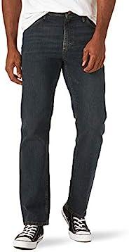 Wrangler 男士经典直筒牛仔裤  Homestead Blue Flex 29W x 30L