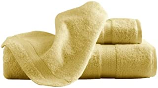 Famous Maker 浴巾 2 件装,柠檬雪纺