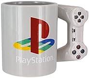 Paladone Playstation PS4控制器形状标准尺寸 300ml 咖啡杯,陶瓷,多色,9 x 15 x 11厘米