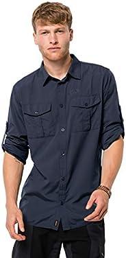 Jack Wolfskin 男士 Atacama 卷边衬衫