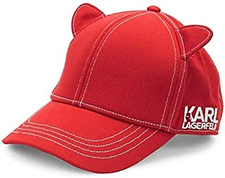 Karl Lagerfeld Paris 女式猫耳棒球帽