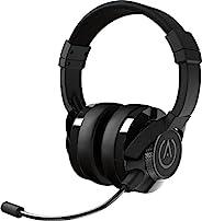 PowerA Fusion 有线立体声游戏耳机 带 MIc 适用于 PlayStation 4、Xbox One、Xbox One X、Xbox One S、Xbox 360、Nintendo Switch、PC、Mac