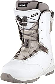 Nitro Snowboards 女士 Crown TLS '20 All Mountain Freeride Freestyle 快速系帶船