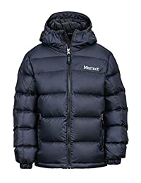 Marmot 土拨鼠 Guides Down 儿童羽绒帽衫,隔热冬装,保暖背心,羽绒大衣