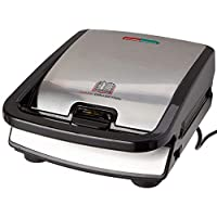 Tefal 特福 快餐系列 三明治/華夫餅機 SW852D 不粘涂層板,適用于洗碗機,具有多種功能可擴展 700W