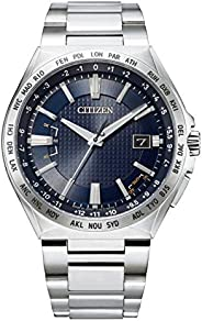 [Citizen 西铁城] 腕表 Attesa 光动能电波手表 Direct Flight ACT Line CB0210-54L 男款 银色