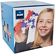 Plus-Plus 9603320 玩具建筑拼插积木,开放式构建,1200块