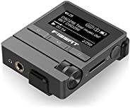 MP3 播放器,16GB HiFi 无损音频 MP3 播放器,带夹子的小便携式运动高分辨率音乐播放器,带 FM 收音机录音机,支持高达 256GB
