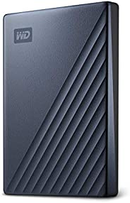 Western Digital 2TB My Passport Ultra 藍色 便攜式外置硬盤 USB-C - WDBC3C0020BBL-WESN