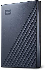 Western Digital 2TB My Passport Ultra 蓝色 便携式外置硬盘 USB-C - WDBC3C0020BBL-WESN