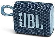 JBL GO 3 Bluetooth音箱 USB C充电/IP67防尘防水/搭载无源*器/便携/2020年款 蓝色 JBLGO3BLU 【国内正规品/1年质保】