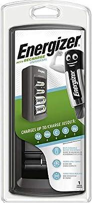 Energizer 通用充电器 适用于 AAA、AA、C、D 和 9 V 块