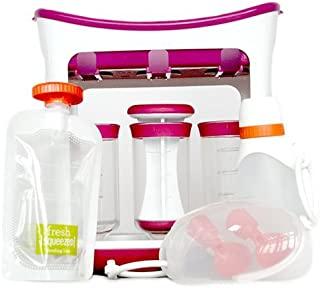 Infantino,挤压站,制作您自己的婴儿食品袋 Squeeze Station Feeding Kit