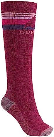 Burton 滑雪板 袜子 女士 袜子 滑雪 WOMENS EMBLEM MIDWEIGHT SOCK 2018-19年款 S/M~M/L码