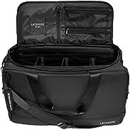 优质运动鞋包,行李袋,健身房训练包,旅行包,篮球包,足球包,3 个可调节隔间隔层, 黑色/黑色,
