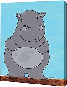 "PrintArt ""Hypopotamus""由 Francis Veroude 创作画廊装裱艺术微喷油画艺术印刷品 10"" x 12"" GW-POD-63-MLV117-10x12"