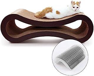 ScratchMe 猫爬架纸板,猫抓板房屋床家具保护罩,无限形状,弯曲
