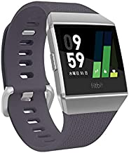 Fitbit 健身 智能手表 iONIC 心率 * 个人角落 配备GPS 耐水性能FB503WTGY-CJK 蓝灰/白色